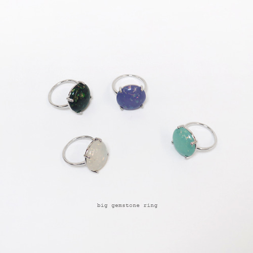 big gemstone ring